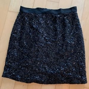 Lucca Couture Sequin Skirt